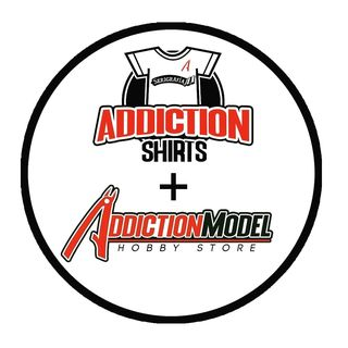 addictionmodel and shirts