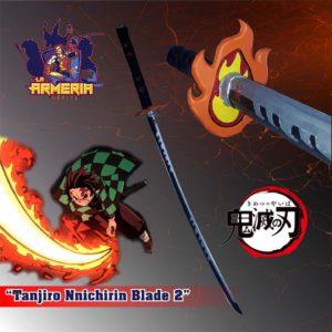 Katana Tanyiro Kimetsu No Yaiba - Demons Layers